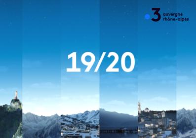 INVERS dans le JT 19/20 de France 3 Auvergne du 20/05/2021
