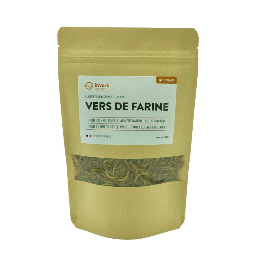 Vers de farine déshydratés 100 g