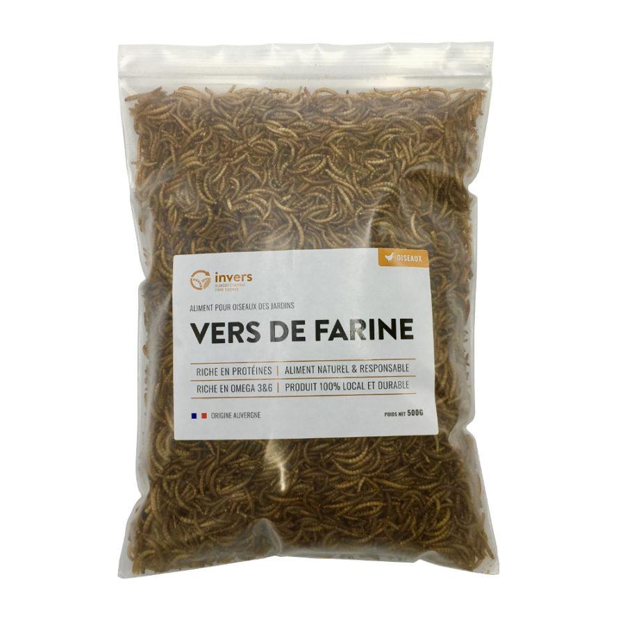 Vers de farine déshydratés 500 g